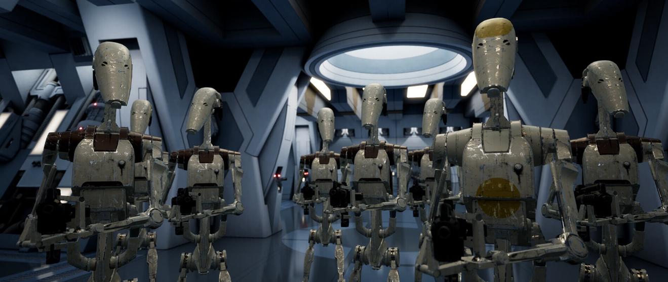 Воссоздана сцена из Star Wars Episode I с помощью UE4 - уровень качества потрясает