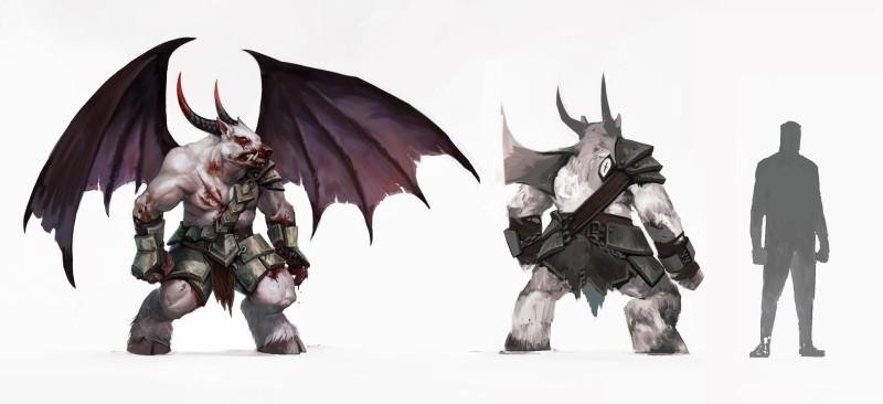Новые арты Pathfinder: Wrath of the Righteous