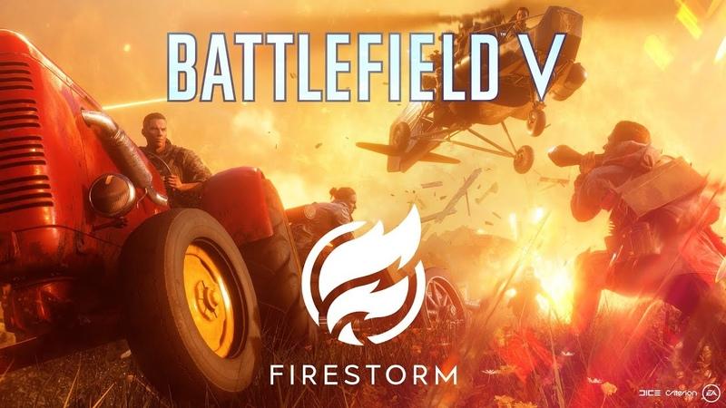 Официальный трейлер королевской битвы Battlefield V