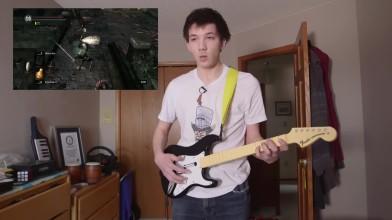 Прохождение Dark Souls на музыкальных инструментах