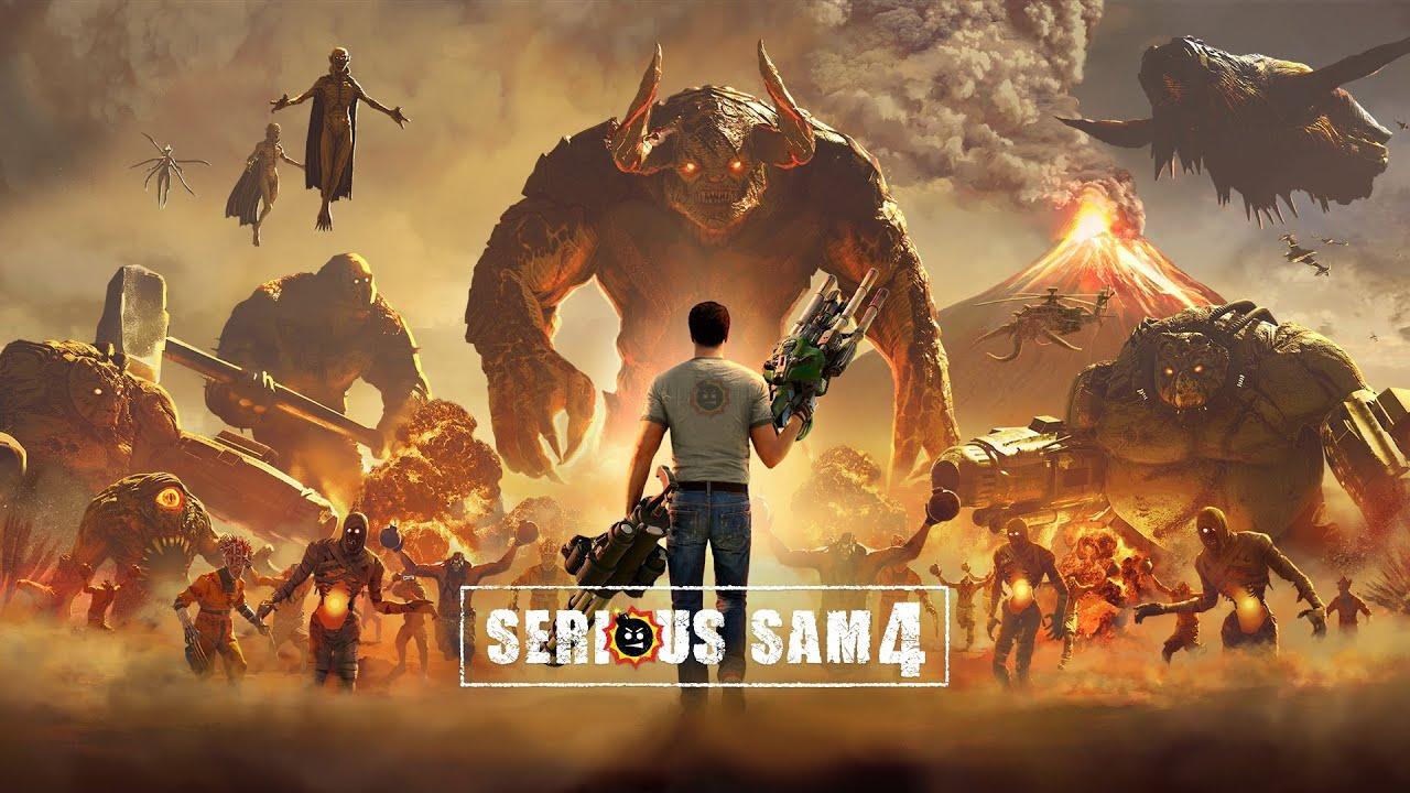 Новый трейлер Serious Sam 4: Planet Badass. Игру уже можно предзаказать в Steam
