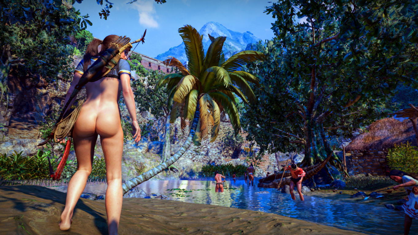 Shadow Of The Tomb Raider Nude Mods