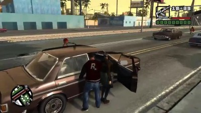 Grand Theft Auto: San Andreas на движке Rage Engine