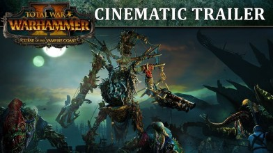 Ходячий корабль в видео дополнения Curse of the Vampire Coast для Warhammer 2
