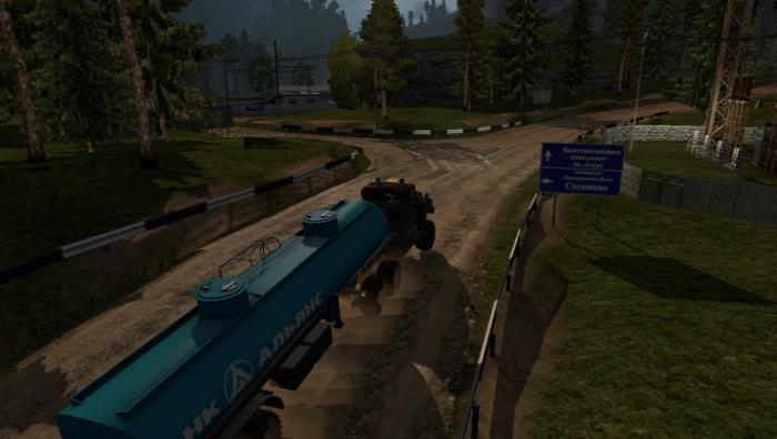 Моды Для Euro Truck Simulator 2 Карта Росcии (Анонс)