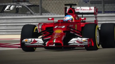 """F1 2014 """"Bahrain Hot Lap"""""""