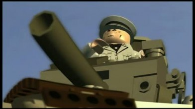 "LEGO Indiana Jones 2 ""Indy vs. Tank Trailer"""