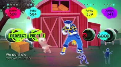"Just Dance 2 ""Rabbids Trailer"""