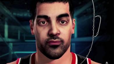 Неудачное сканирование лица в NBA 2K15