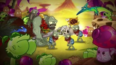 Plants vs. Zombies 2- Jurassic March — новое обновление с динозаврами!