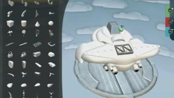 "Spore ""Творим в игре/ Создаём подобие самолёта"""