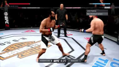 "UFC 2 ""Бой Hendrick vs Khaled """