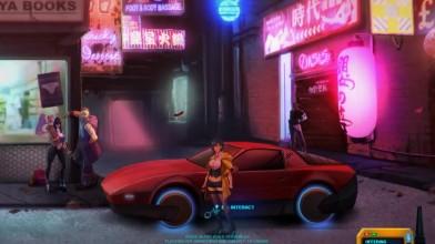 Геймплей приключения Sense: A Cyberpunk Story