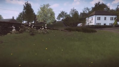 "Everybody's Gone To The Rapture ""Тест частоты кадров PS4"""