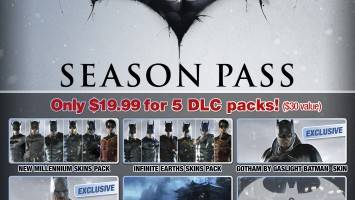 Анонс Season Pass для Batman: Arkham Origins