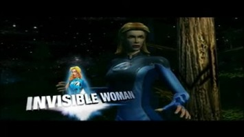 Marvel: Ultimate Alliance Character - Invisible Woman