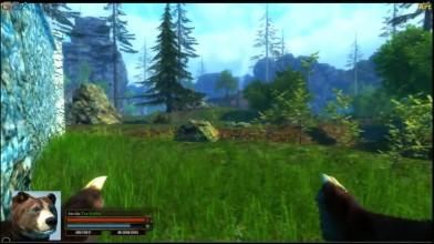 Первый Взгляд Симулятор Медведя - Скайрим с лапами!