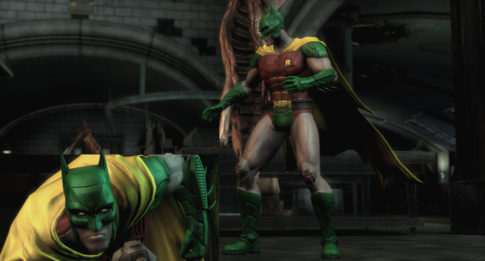 Nude mode injustice hentai tube