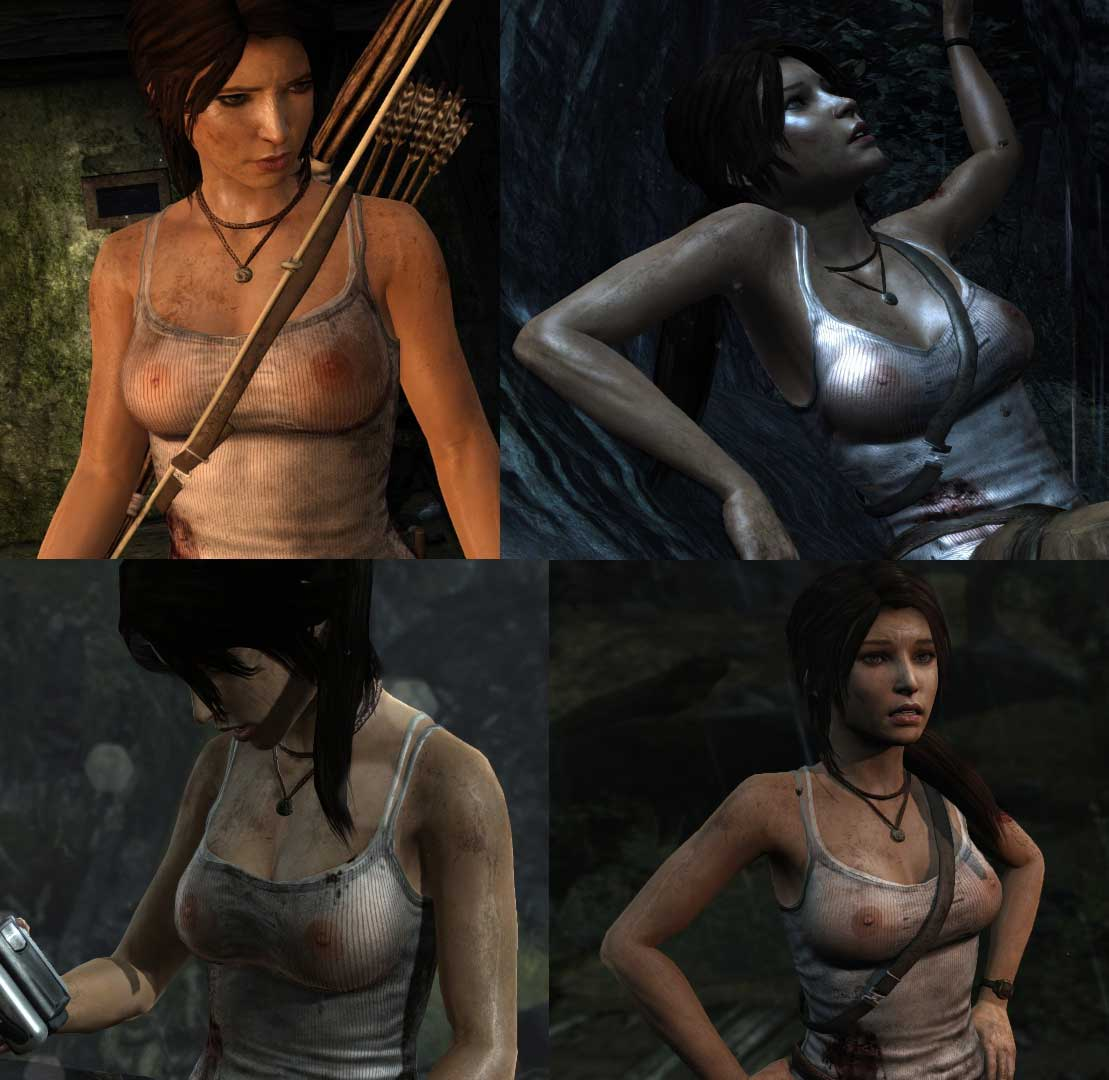 Lara croft die topless xxx videos