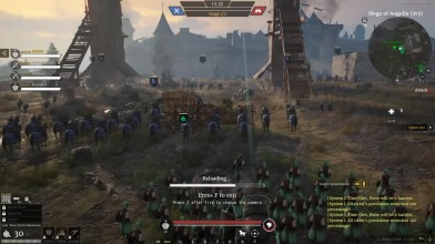 Геймплей Conquerors Blade: штурм замка