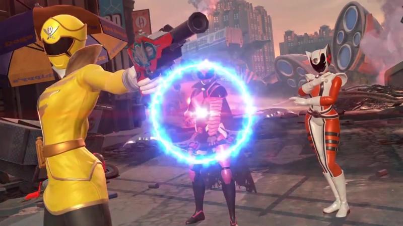 Официальный геймлей Power Rangers: Battle for the Grid