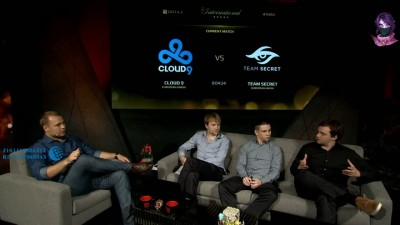 Dota 2 Cloud9 vs Team Secret #1 - The International 5 Day 2 Group Stage (28.07.2015)