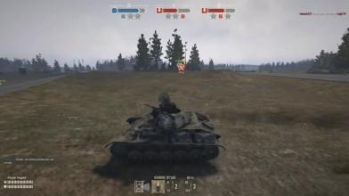Heroes & Generals  Т-70 танк нагиба