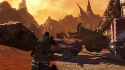 Red Faction: Guerrilla - Re-Mars-tered - ламповый русский трейлер - VHSник
