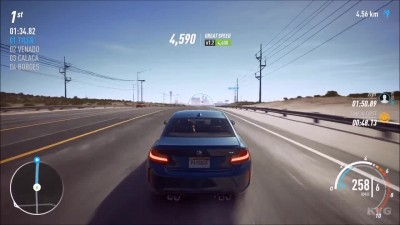 Need For Speed: Payback - BMW M2 - Тест-драйв Геймплей (PC HD)
