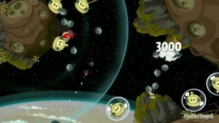 "Angry Birds Star Wars ""path of the jedi episode"""