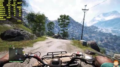 Тест производительности частоты кадров - Far Cry 4 Pc 4K Ultra Gameplay GTX 1080 TI 8700K