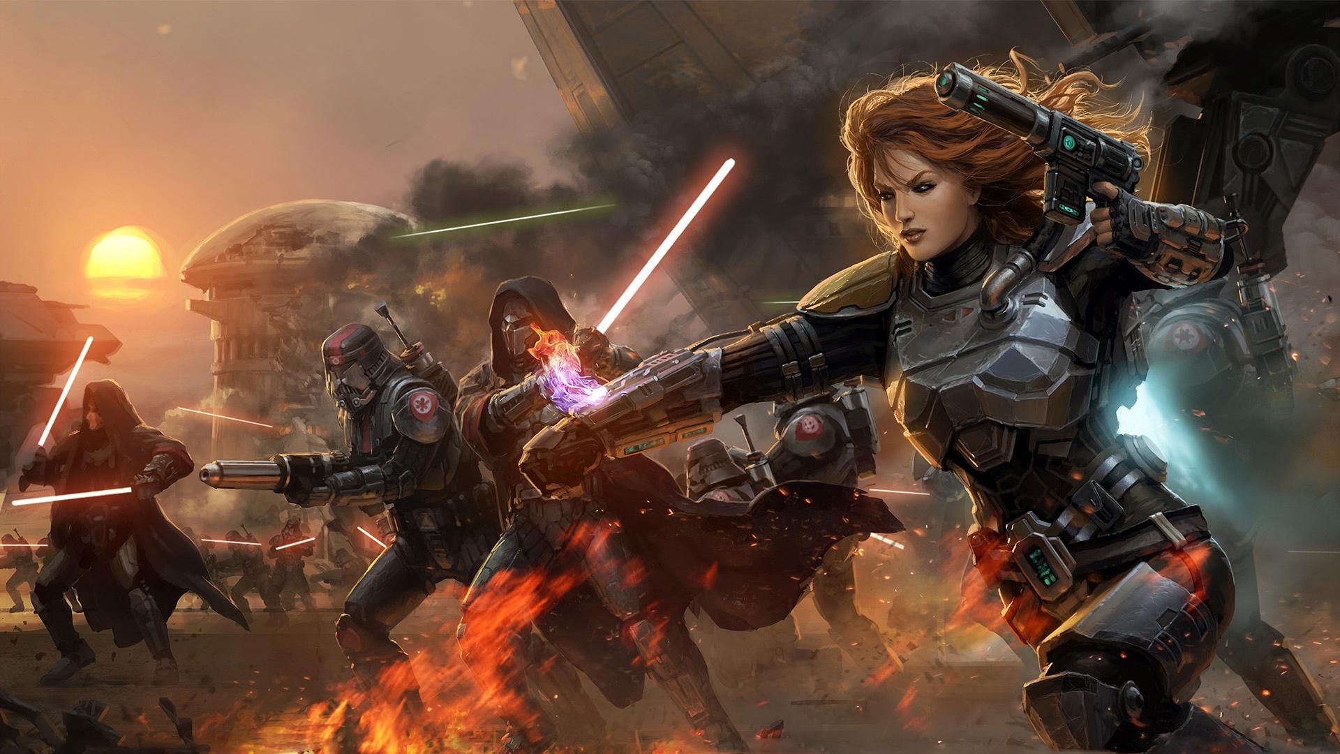 Анонсирован патч для Star Wars: The Old Republic