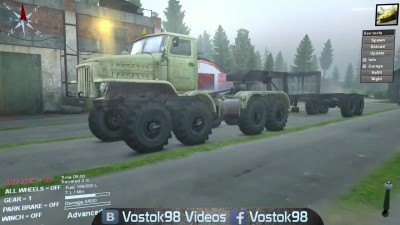 Spintires - НАМИ-058С
