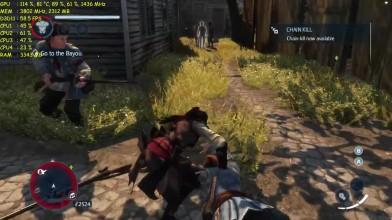 "Assassin's Creed- Liberation HD ""Тест производительности GTX 970 OC - DSR - 2160p """
