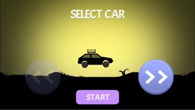 Bad roads Elastic car Обзор игры - Gameplay на Android.