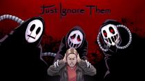Анонсирующий трейлер хорора Just Ignore Them к релизу на консоли