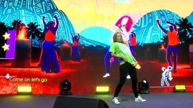 Just Dance World Cup - Показательное выступление Амандины Мориссе