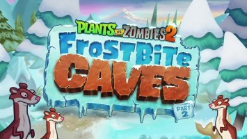 "Plants vs. Zombies 2 ""Трейлер Frostbite caves part 2"""
