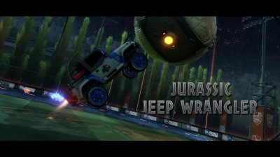 Трейлер Rocket League - Jurassic World Car Pack