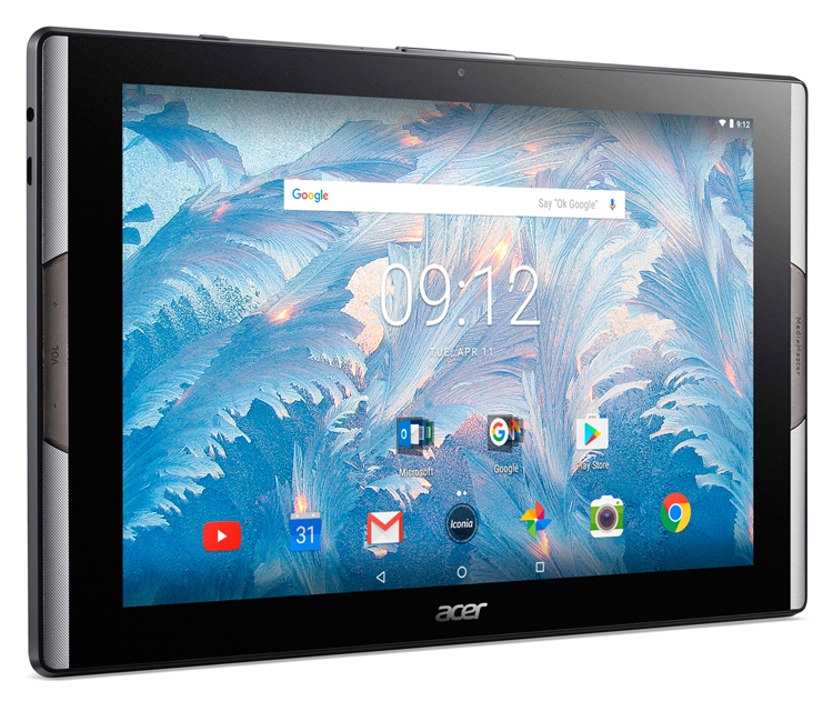 Acer представила планшет Iconia Tab 10 сквантовыми точками