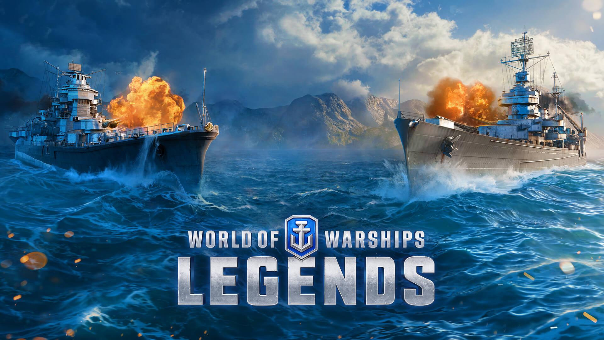 Состоялся релиз World of Warships: Legends