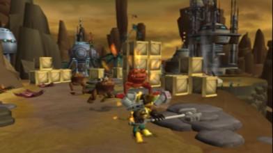 "Ratchet & Clank ""Начало игры (PS2)"""