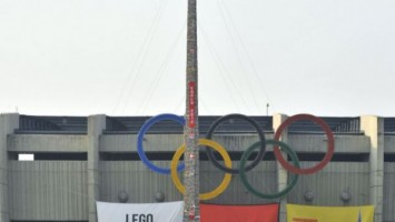 В Южной Корее установлен новый рекорд по сборке высокой башни из LEGO