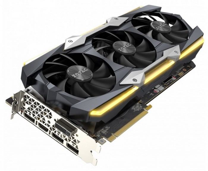 ZOTAC GeForce GTX 1080 Ti AMP Extreme Core Edition