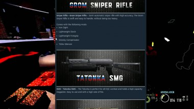 Payday 2 - Gage Russian Weapon Pack