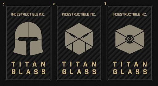 Концепты наклеек, предупреждающих о том, что с этим стеклом так просто не справиться