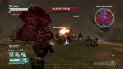 "Defiance ""Геймплей Hellbugs and Frame Rates"""