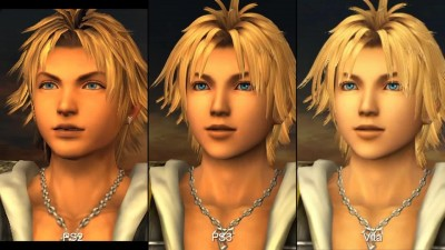 "Final Fantasy X/X-2 HD Remaster ""Сравнение графики PS2 vs. PS3 vs. Vita"""