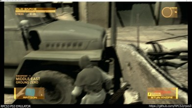 Metal Gear Solid 4 - наконец запустился на эмуляторе PS3!