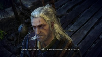 The Witcher 2 Xbox One X Обратная совместимость - Геймплей (Cycu1)